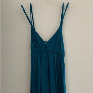 Dresses & Skirts - Periwinkle blue Grecian style maxi dress